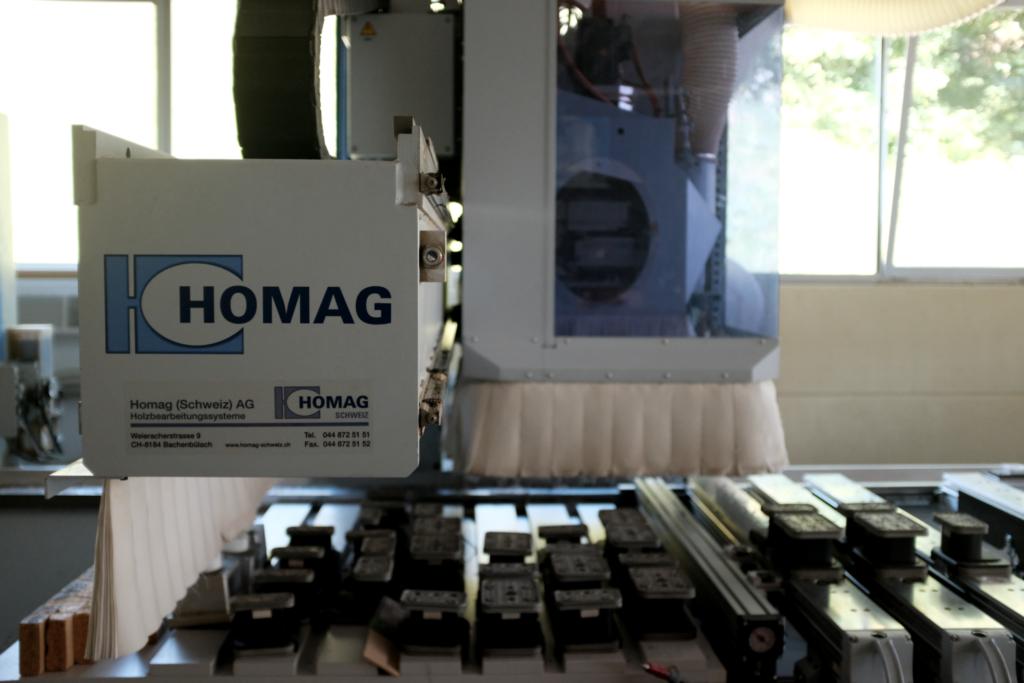 HOMAG CNC Fräse