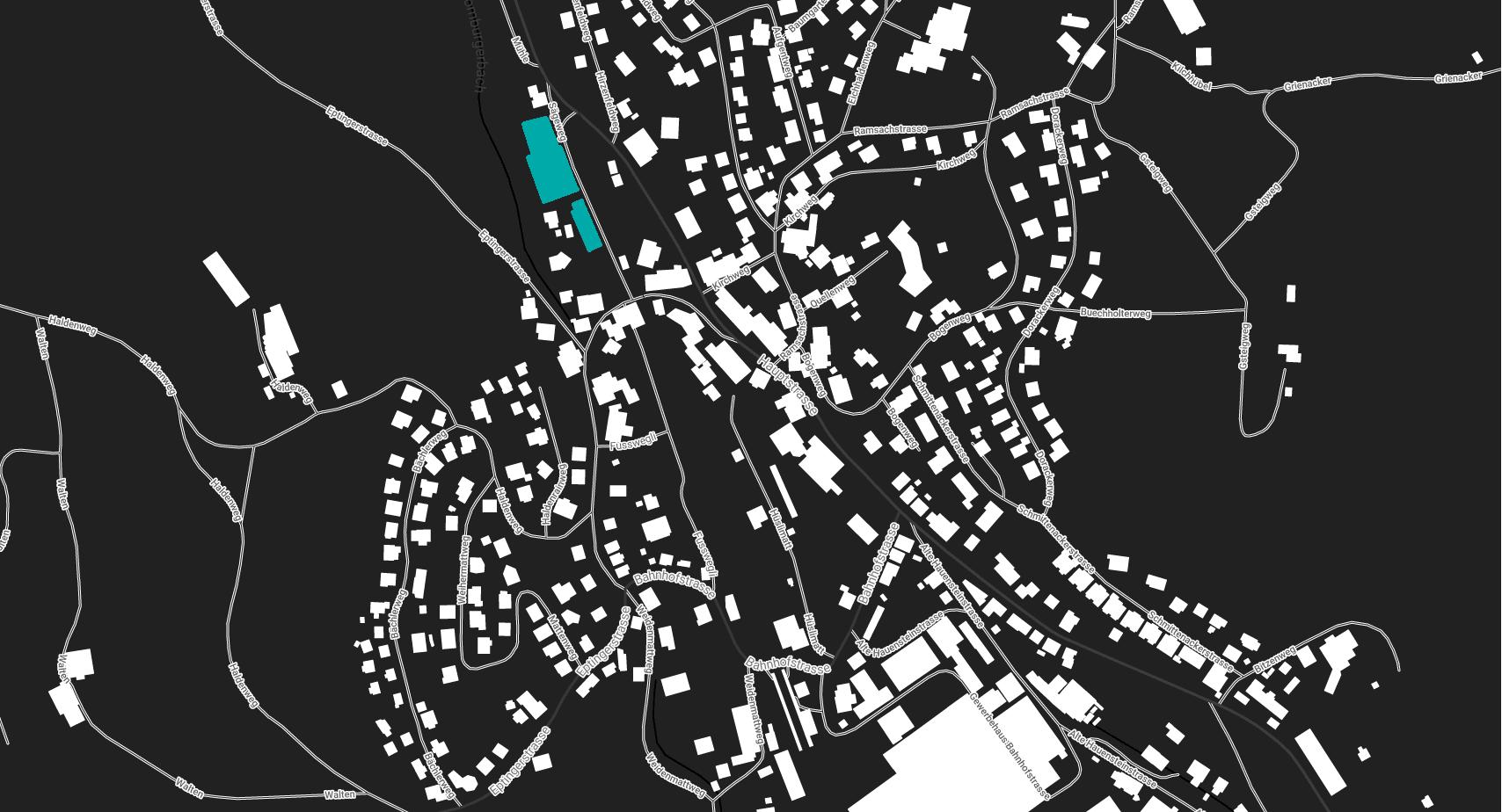 HRAG Karte Läufelfingen Baselland